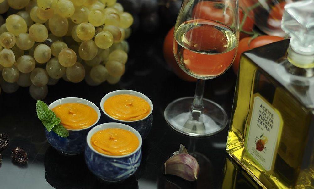 Salmorejo Amontillado elaborado con Aceite de Oliva Virgen Extra