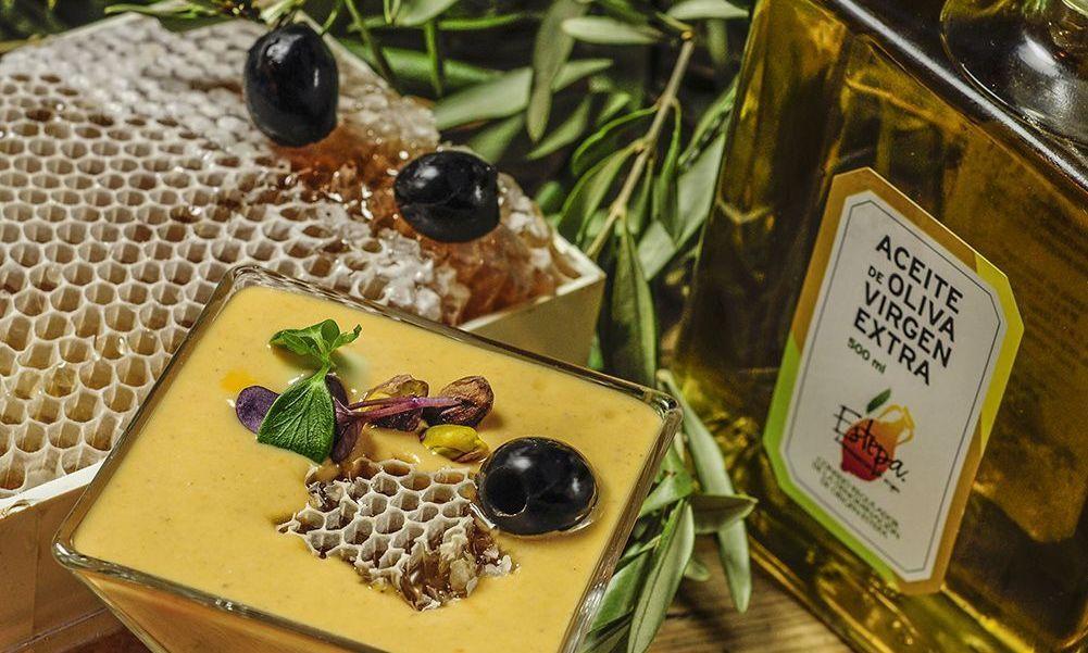 Salmorejo de Miel y Mostaza con Aceite de Oliva Virgen Extra Selección