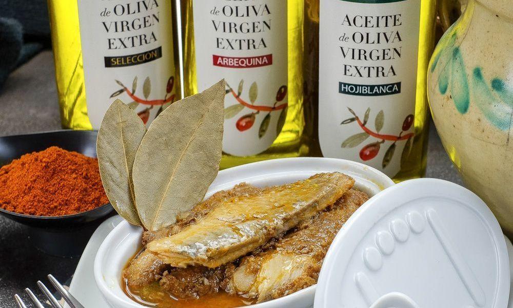 Escabeche de sardina hecho con un excelente virge extra