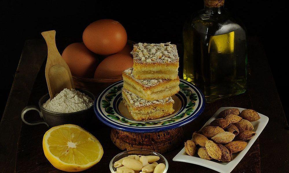 Torta de hornazo hecha con el mejor virgen extra