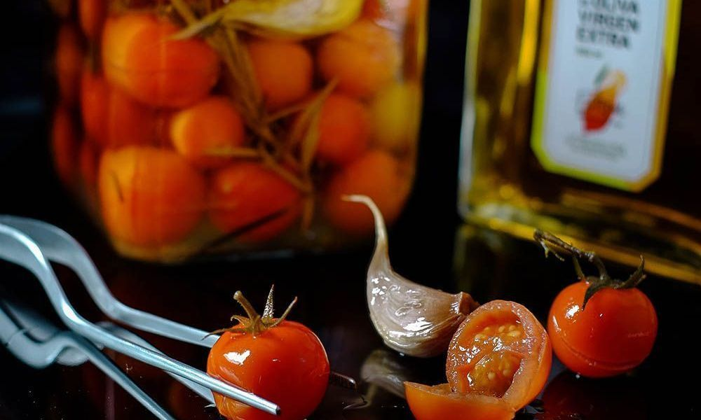 Conservas de tomate al virgen extra