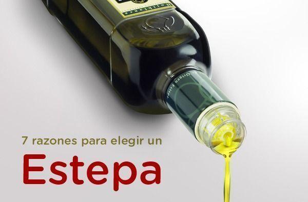 7 razones para elegir un aceite de oliva virgen extra de la Denominación de Origen Estepa