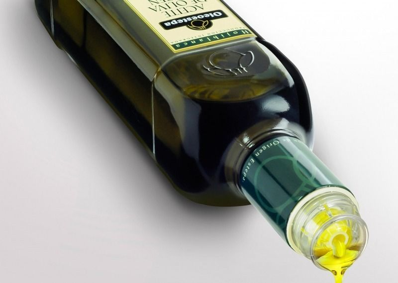 botella irrellenable de aceite de oliva virgen extra Oleoestepa