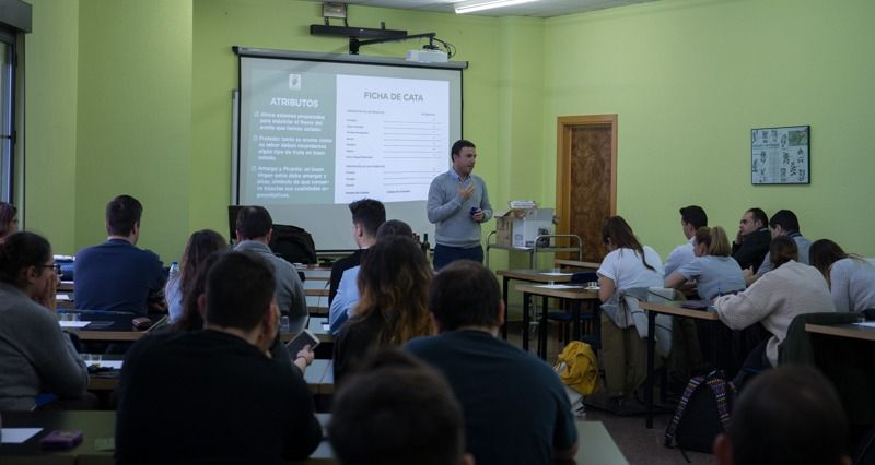 Cata en Escuela de Hostelería de Gijón