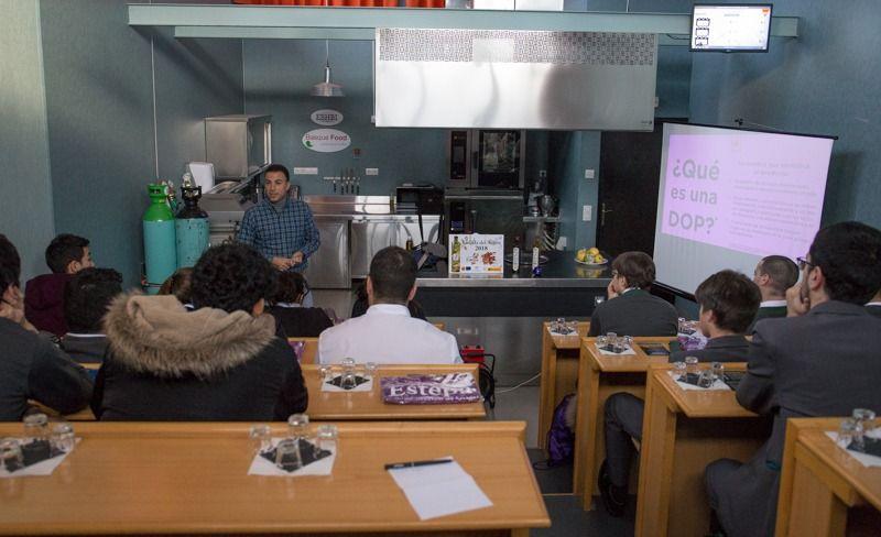 Cata en Escuela de Hostelería de Bilbao