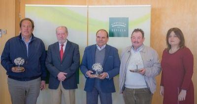 Entrega de los premios a los mejores aceites de Sevilla