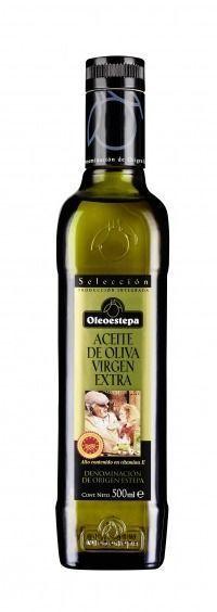 Oleoestepa Selección, aceite de oliva virgen extra amparado bajo la DOP Estepa