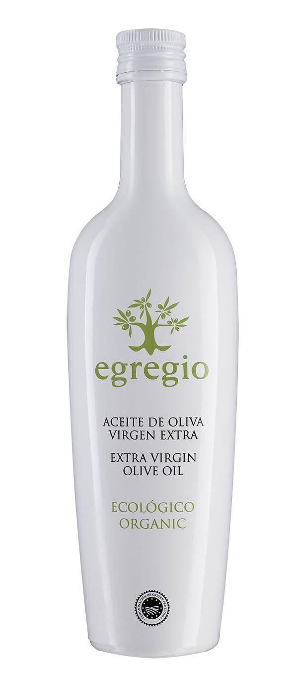 Egregio Ecológico, aceite de oliva virgen extra amparado bajo la Denominación de Origen Estepa