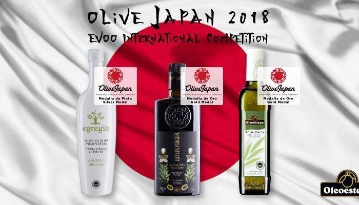 oleoestepa premios en olive japan 2018