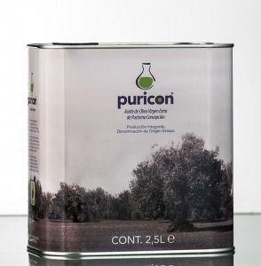 lata 2,5 l aceite de oliva virgen extra Puricon