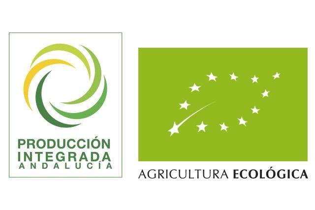logotipos producción integrada y ecológica