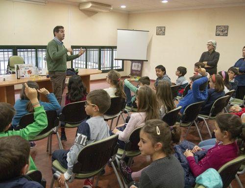 La DOP Estepa continúa su labor educativa con un proyecto dirigido al público infantil