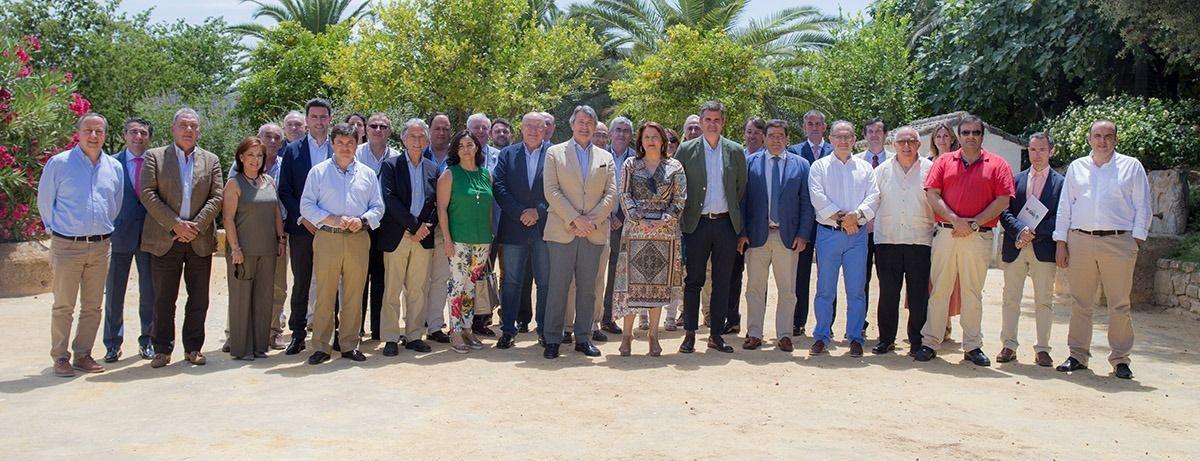 Reunión de consejos reguladores de Andalucía celebrada en Estepa