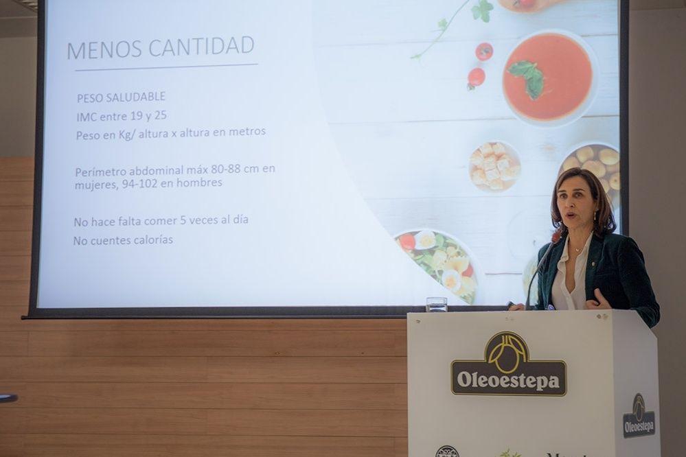 Conferencia de Paloma Gil en Saludables