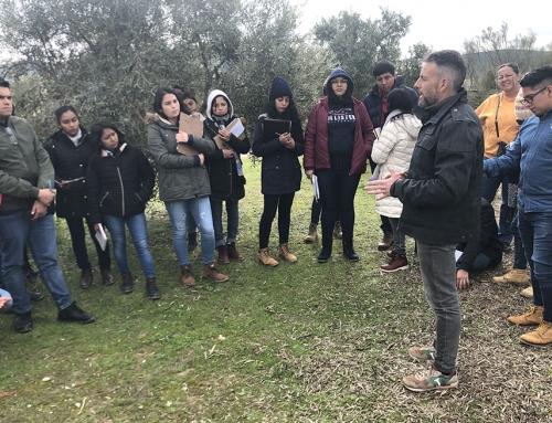 La Denominación de Origen Estepa recibe la visita de la Universidad de Chapingo