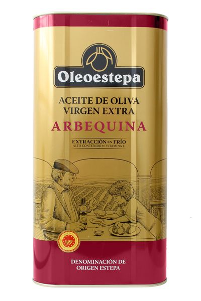 Oleoestepa Arbequina 5L LATA