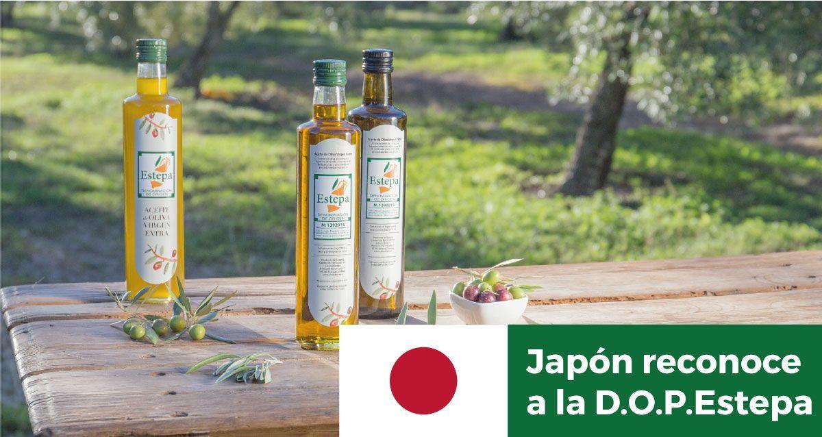 Japón reconoce a la D.O.P.Estepa